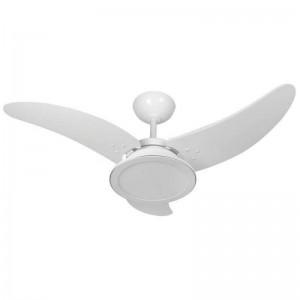 Ventilador Itaparica Max LED Branco 110V 3 Pás