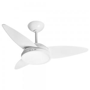 Ventilador LED Lian Branco 220V 3 Pás