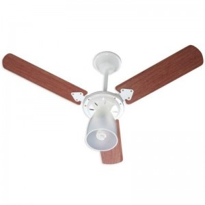Ventilador Marbela Branco 220V 3 Pás Verniz
