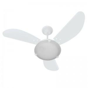 Ventilador Max Colors Branco 220V 3 Pás