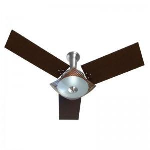 Ventilador Naulu Alumínio 110V 3 Pás Tabaco