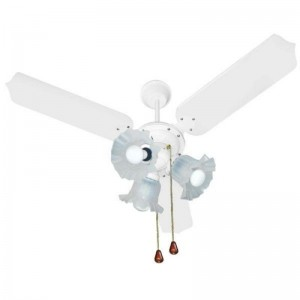 Ventilador Paris Plus Branco 110V 3 Pás