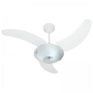 Ventilador Clean Branco 220V 3 Pás