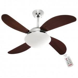 Ventilador Volare Fly Tabaco 127V e Controle Remoto