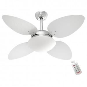 Ventilador Volare P Palmae Branco 220V e Controle Remoto
