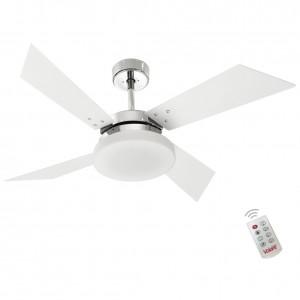 Ventilador Volare Tech Branco 127V e Controle Remoto