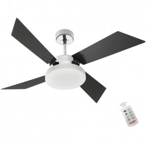 Ventilador Volare Tech Preto 220V e Controle Remoto